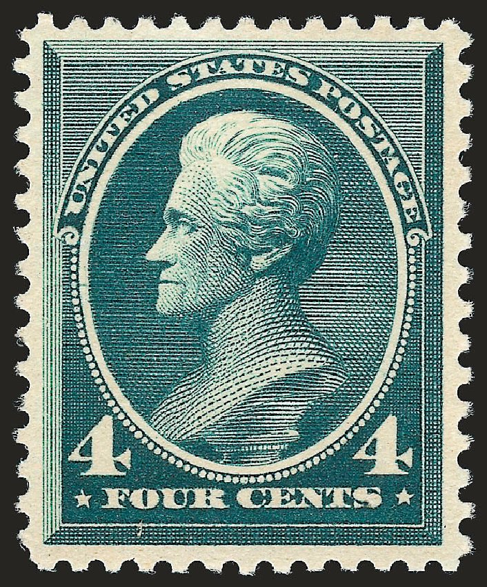 Values of US Stamps Scott Catalog #211D - 4c 1883 Jackson Special Printing. Robert Siegel Auction Galleries, Oct 2008, Sale 963, Lot 830