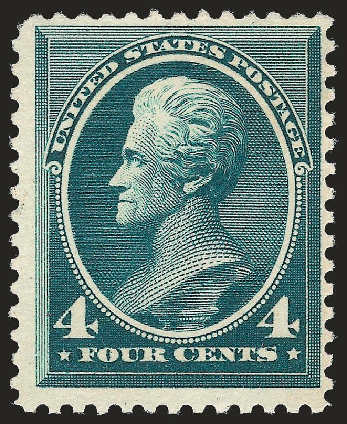 Prices of US Stamps Scott Cat. #211D: 4c 1883 Jackson Special Printing. Robert Siegel Auction Galleries, Jun 2010, Sale 989, Lot 155
