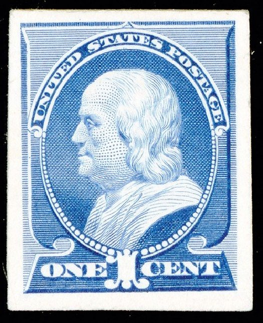 US Stamps Price Scott Catalog # 212: 1883 1c Franklin. Spink Shreves Galleries, May 2014, Sale 148, Lot 189