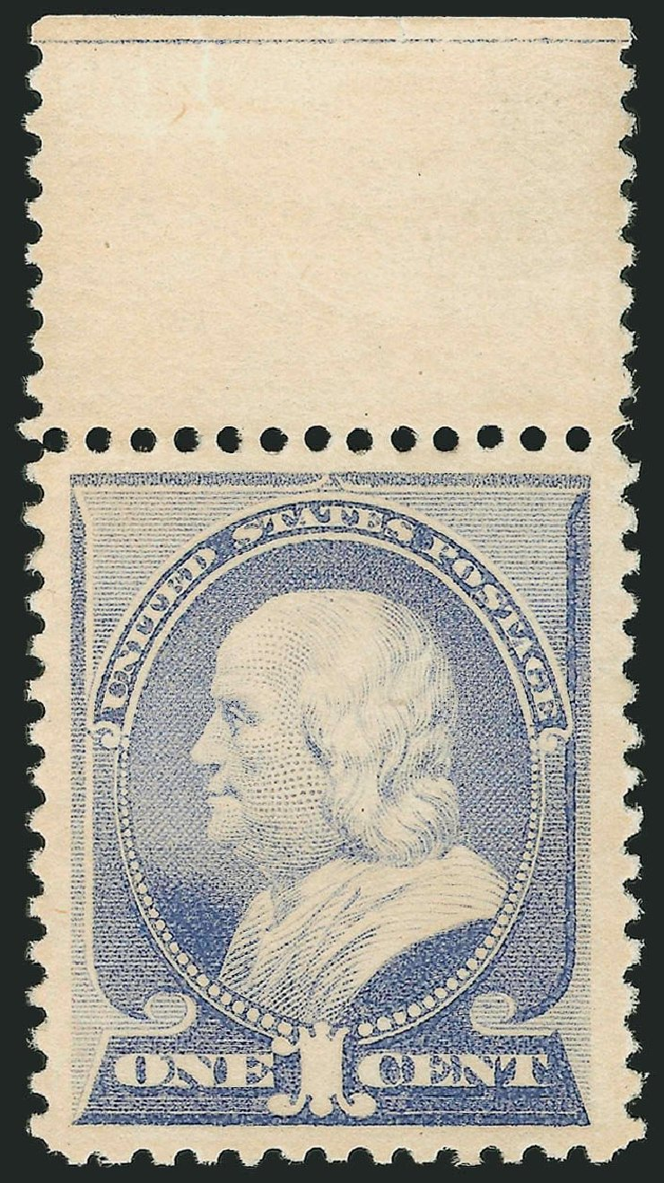 US Stamp Value Scott #212: 1883 1c Franklin. Robert Siegel Auction Galleries, Apr 2014, Sale 1068, Lot 165