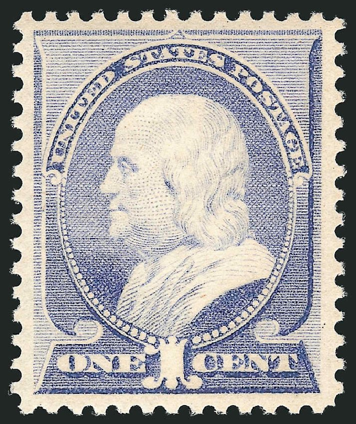 Prices of US Stamps Scott Cat. #212 - 1c 1883 Franklin. Robert Siegel Auction Galleries, Apr 2015, Sale 1096, Lot 372