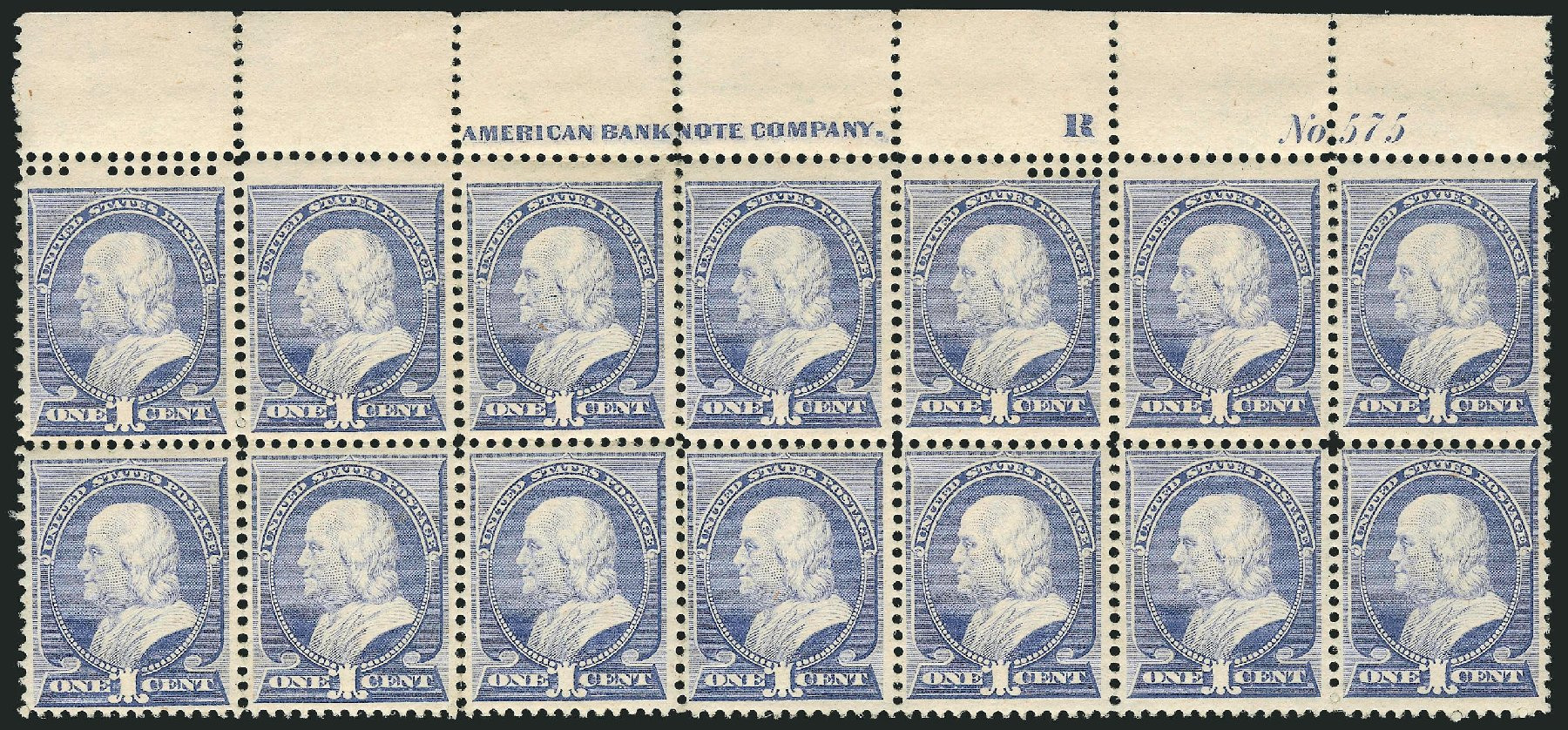 US Stamps Prices Scott Catalog 212 - 1c 1883 Franklin. Robert Siegel Auction Galleries, Apr 2015, Sale 1096, Lot 373