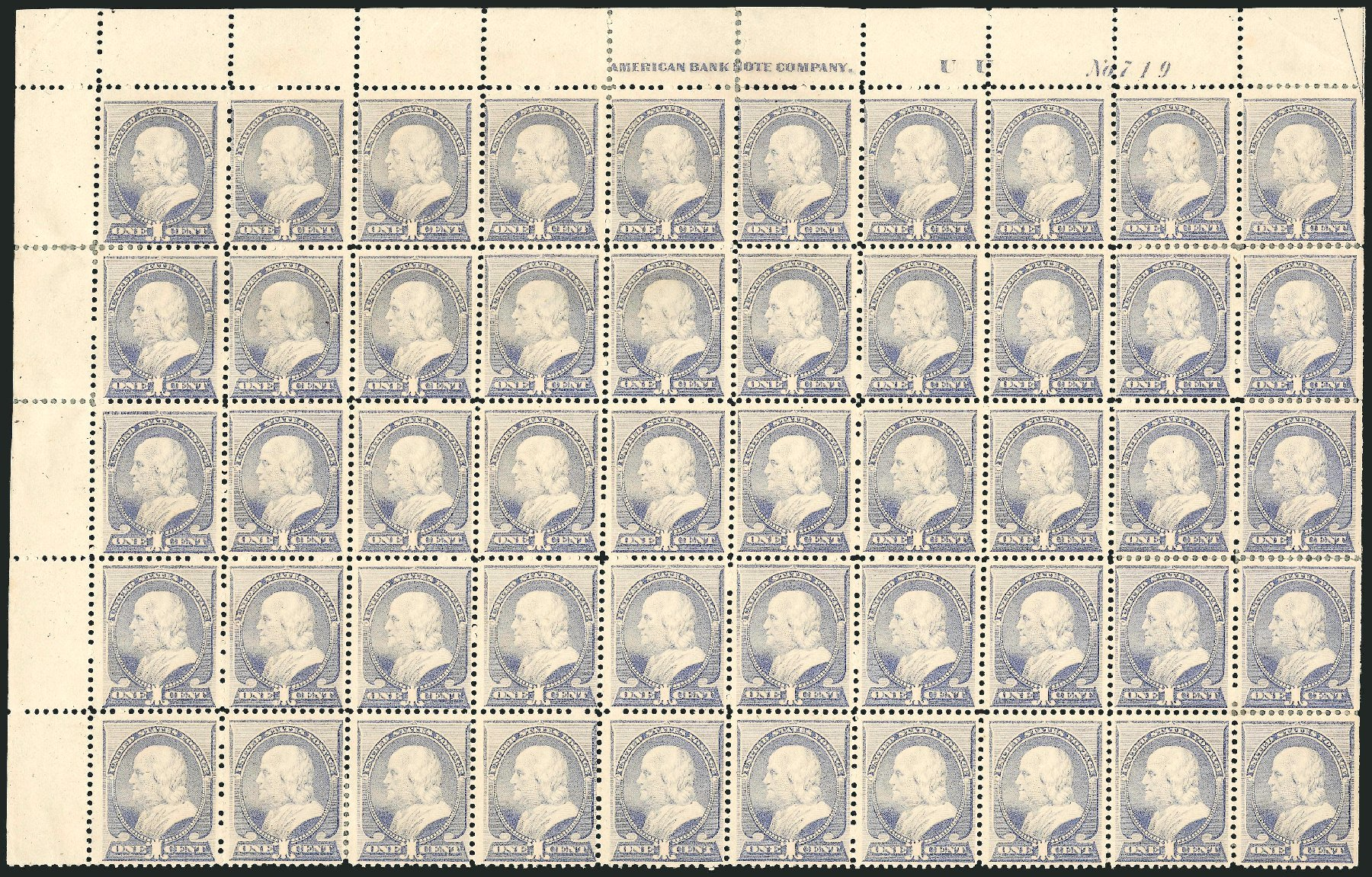 US Stamp Value Scott Catalog #212 - 1883 1c Franklin. Robert Siegel Auction Galleries, Nov 2014, Sale 1084, Lot 3476