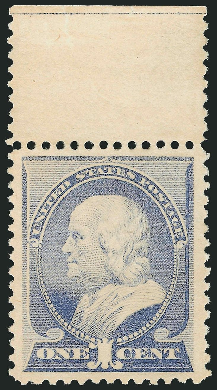 Cost of US Stamps Scott Catalogue 212: 1883 1c Franklin. Robert Siegel Auction Galleries, Dec 2014, Sale 1090, Lot 1366