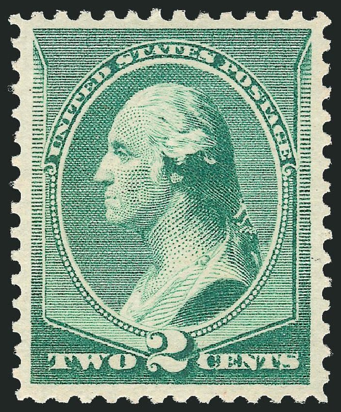 US Stamps Prices Scott Catalogue 213 - 2c 1883 Washington. Robert Siegel Auction Galleries, Dec 2014, Sale 1090, Lot 1367