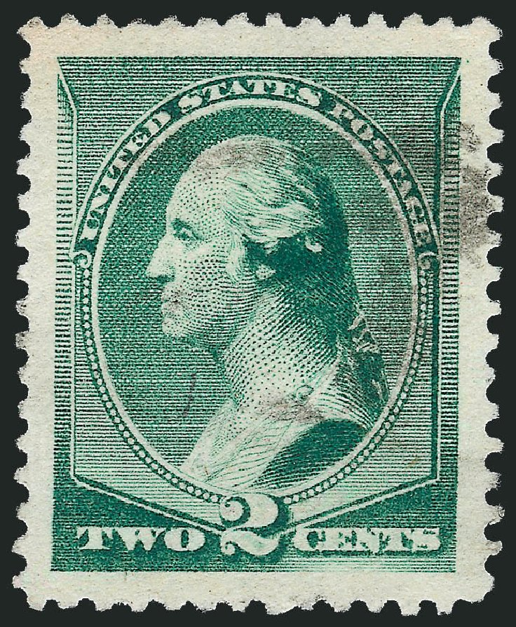 Values of US Stamp Scott Cat. #213: 1883 2c Washington. Robert Siegel Auction Galleries, Nov 2012, Sale 1034, Lot 188