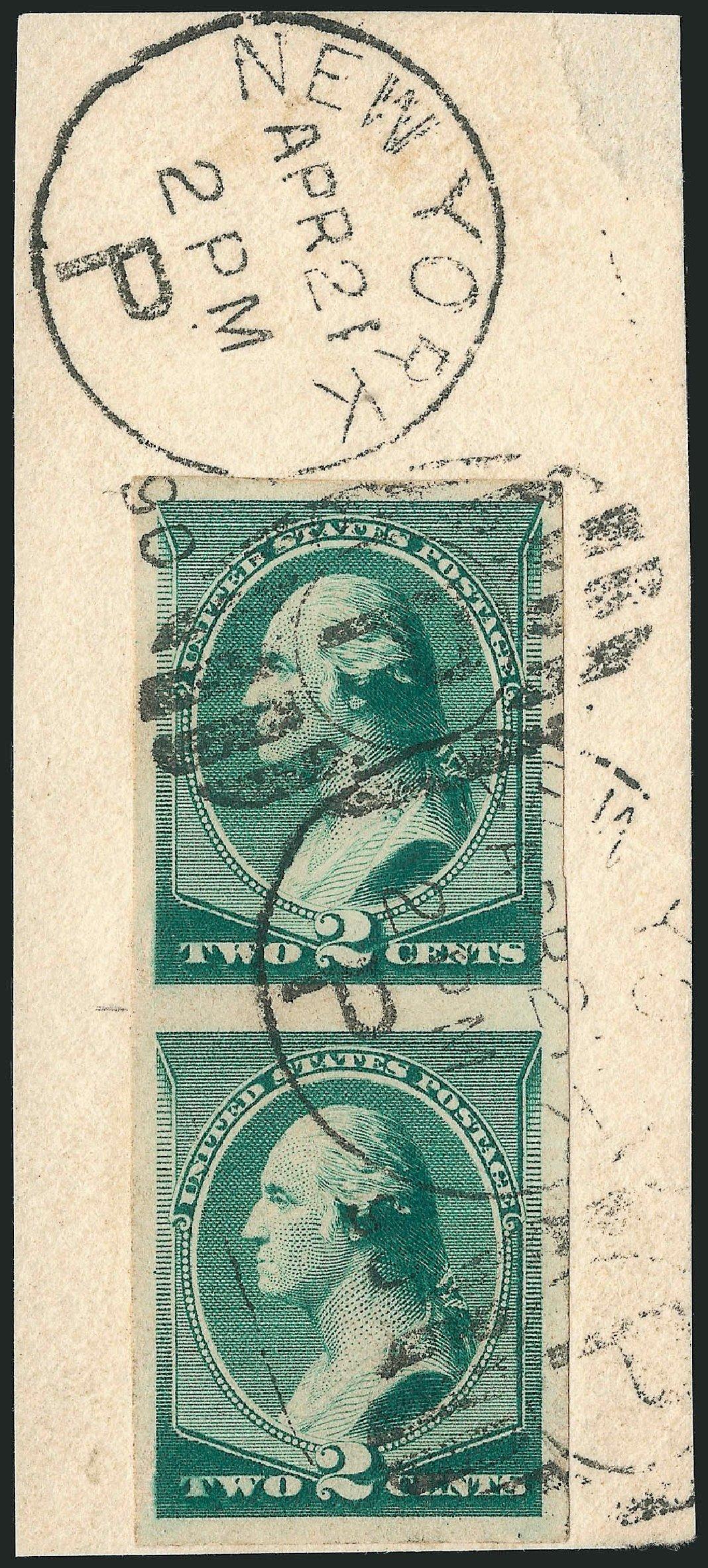 Values of US Stamp Scott Catalogue 213: 1883 2c Washington. Robert Siegel Auction Galleries, Nov 2014, Sale 1084, Lot 3478