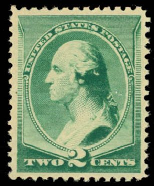 Price of US Stamps Scott Catalog #213: 2c 1883 Washington. Daniel Kelleher Auctions, Jan 2015, Sale 663, Lot 1429