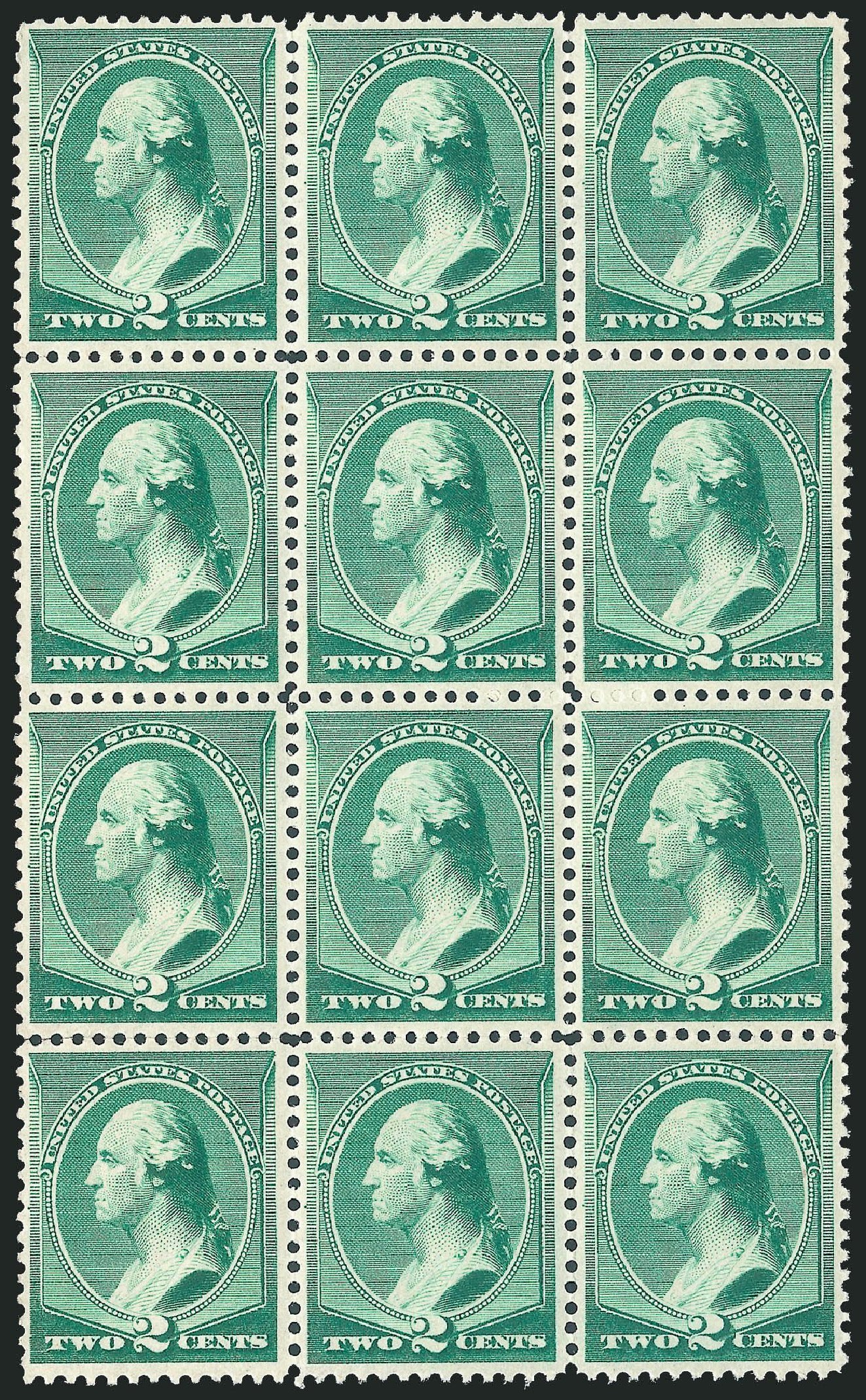 Value of US Stamps Scott Catalog #213 - 2c 1883 Washington. Robert Siegel Auction Galleries, Jul 2013, Sale 1050, Lot 319