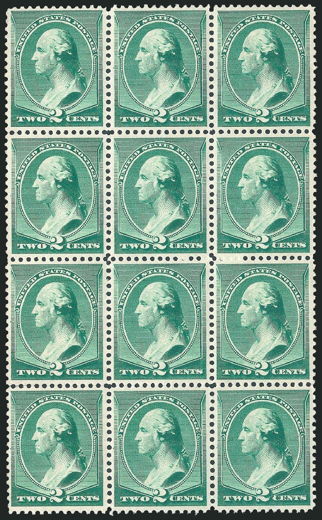 Value of US Stamps Scott Catalog #213 - 2c 1883 Washington. Robert Siegel Auction Galleries, Jul 2013, Sale 1050, Lot 319