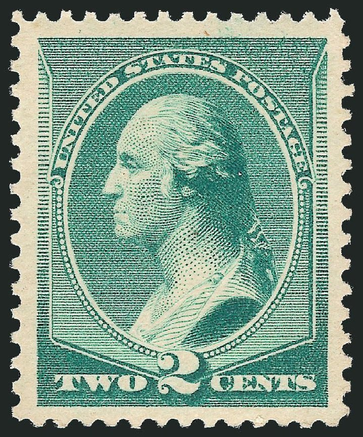 US Stamp Prices Scott Catalog 213 - 2c 1883 Washington. Robert Siegel Auction Galleries, Nov 2013, Sale 1057, Lot 799