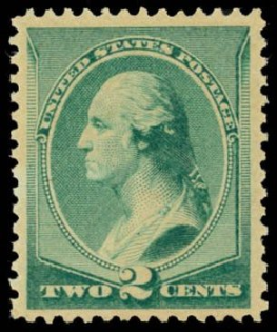 Value of US Stamp Scott Catalog #213: 1883 2c Washington. Daniel Kelleher Auctions, May 2014, Sale 653, Lot 2145