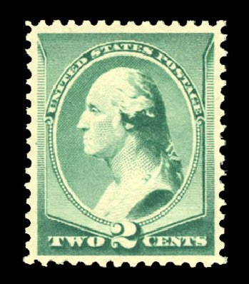 Value of US Stamp Scott Catalogue #213: 2c 1883 Washington. Cherrystone Auctions, Jul 2013, Sale 201307, Lot 62