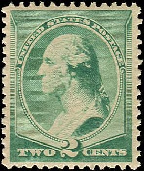 Value of US Stamps Scott Catalog #213: 2c 1883 Washington. Regency-Superior, Nov 2014, Sale 108, Lot 392