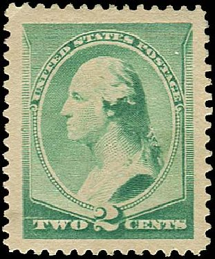 Cost of US Stamp Scott Catalogue # 213 - 1883 2c Washington. Regency-Superior, Jan 2015, Sale 109, Lot 853