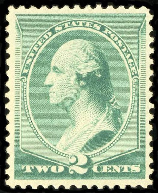 Value of US Stamp Scott Catalog 213: 1883 2c Washington. Spink Shreves Galleries, Jul 2015, Sale 151, Lot 173