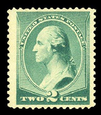 Cost of US Stamps Scott #213: 1883 2c Washington. Cherrystone Auctions, Nov 2014, Sale 201411, Lot 36