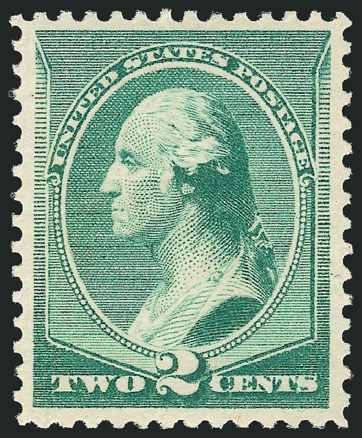 Cost of US Stamps Scott #213: 1883 2c Washington. Robert Siegel Auction Galleries, Dec 2012, Sale 1037, Lot 1766