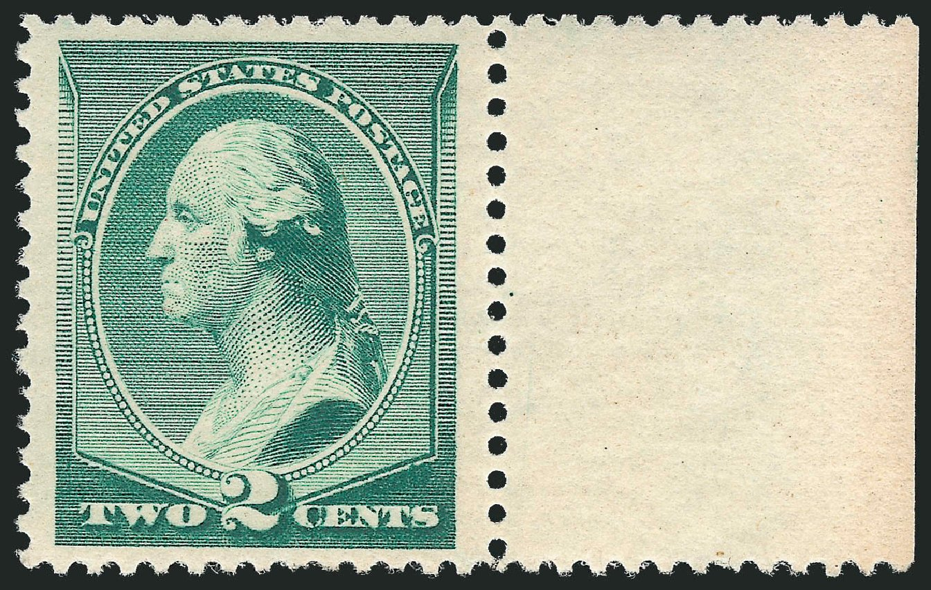 Costs of US Stamps Scott Cat. 213: 1883 2c Washington. Robert Siegel Auction Galleries, Dec 2013, Sale 1062, Lot 406