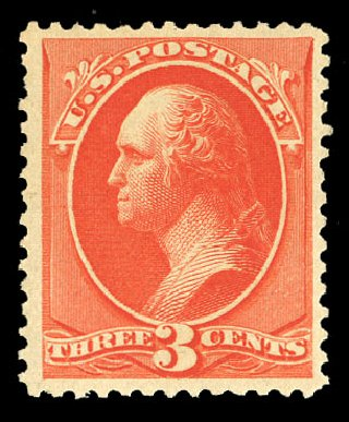 Prices of US Stamp Scott Cat. 214: 1883 3c Washington. Cherrystone Auctions, Nov 2014, Sale 201411, Lot 37