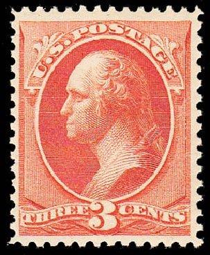 US Stamp Prices Scott Catalog #214: 3c 1883 Washington. Daniel Kelleher Auctions, May 2014, Sale 652, Lot 318