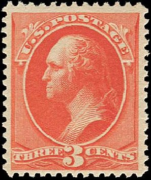 Costs of US Stamp Scott 214: 1883 3c Washington. Regency-Superior, Aug 2015, Sale 112, Lot 369