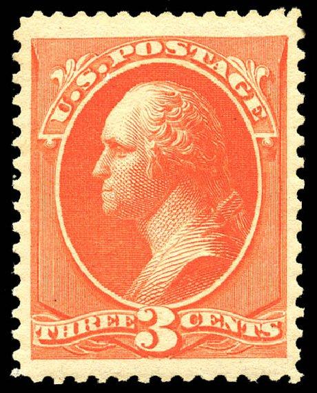 Price of US Stamps Scott Catalog # 214: 1883 3c Washington. Matthew Bennett International, May 2014, Sale 350, Lot 320