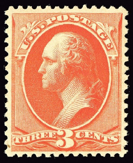 Costs of US Stamp Scott Catalogue #214: 3c 1883 Washington. Spink Shreves Galleries, May 2014, Sale 148, Lot 190