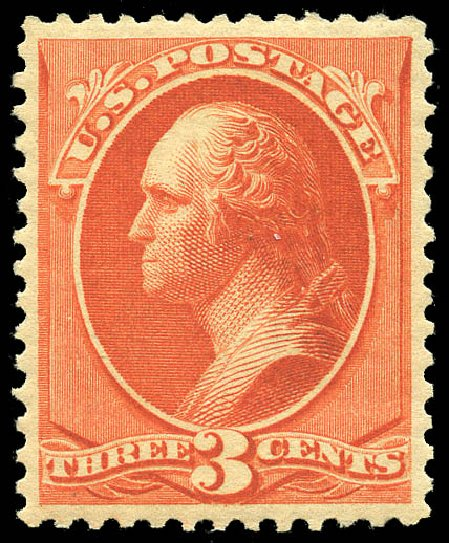 US Stamps Price Scott Catalogue # 214: 3c 1883 Washington. Matthew Bennett International, May 2014, Sale 350, Lot 321