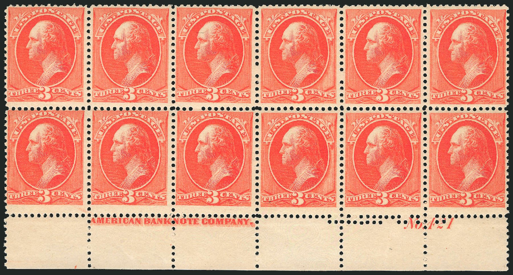 Price of US Stamp Scott Catalogue # 214: 3c 1883 Washington. Robert Siegel Auction Galleries, Feb 2015, Sale 1092, Lot 1151