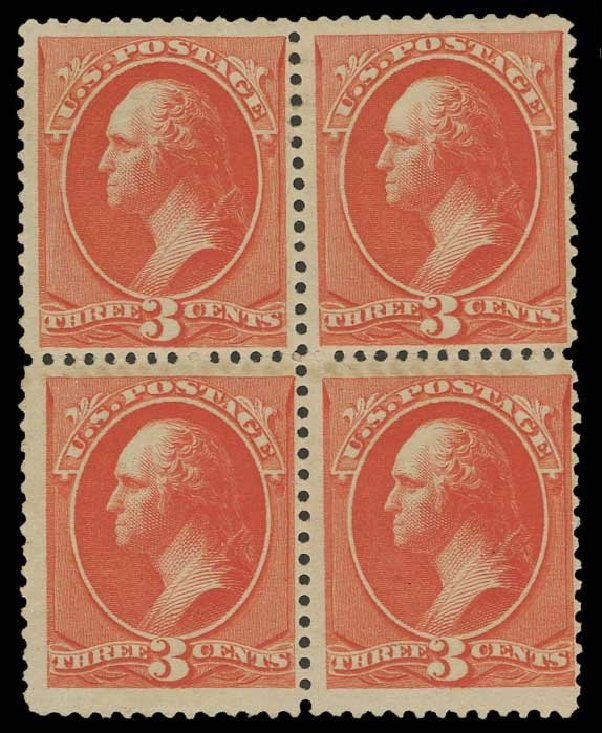 Costs of US Stamp Scott Catalog # 214 - 3c 1883 Washington. H.R. Harmer, May 2014, Sale 3005, Lot 1153