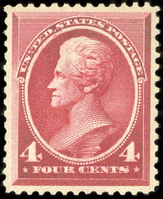 Price of US Stamps Scott Catalogue #215 - 4c 1883 Jackson. Spink Shreves Galleries, Jul 2015, Sale 151, Lot 175