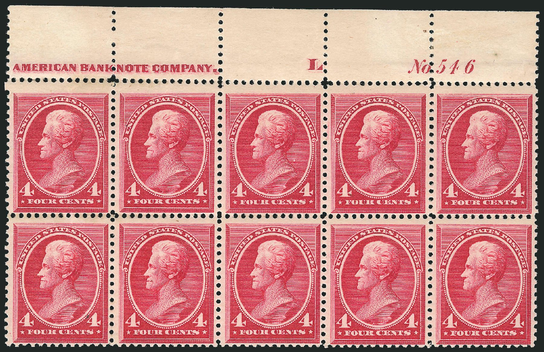 US Stamps Price Scott Catalogue 215: 4c 1883 Jackson. Robert Siegel Auction Galleries, Apr 2015, Sale 1096, Lot 376