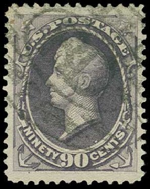 US Stamp Price Scott 218: 1883 90c Perry. H.R. Harmer, Jun 2015, Sale 3007, Lot 3231
