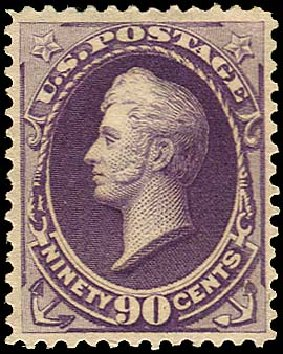 Prices of US Stamp Scott Catalog 218: 1883 90c Perry. Regency-Superior, Aug 2015, Sale 112, Lot 375
