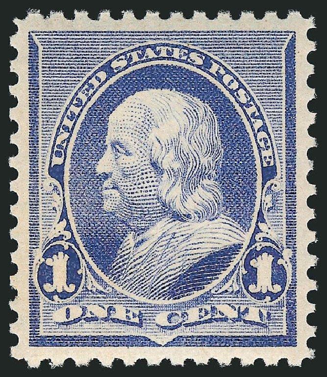 Value of US Stamps Scott #219 - 1890 1c Franklin. Robert Siegel Auction Galleries, Feb 2015, Sale 1092, Lot 1159