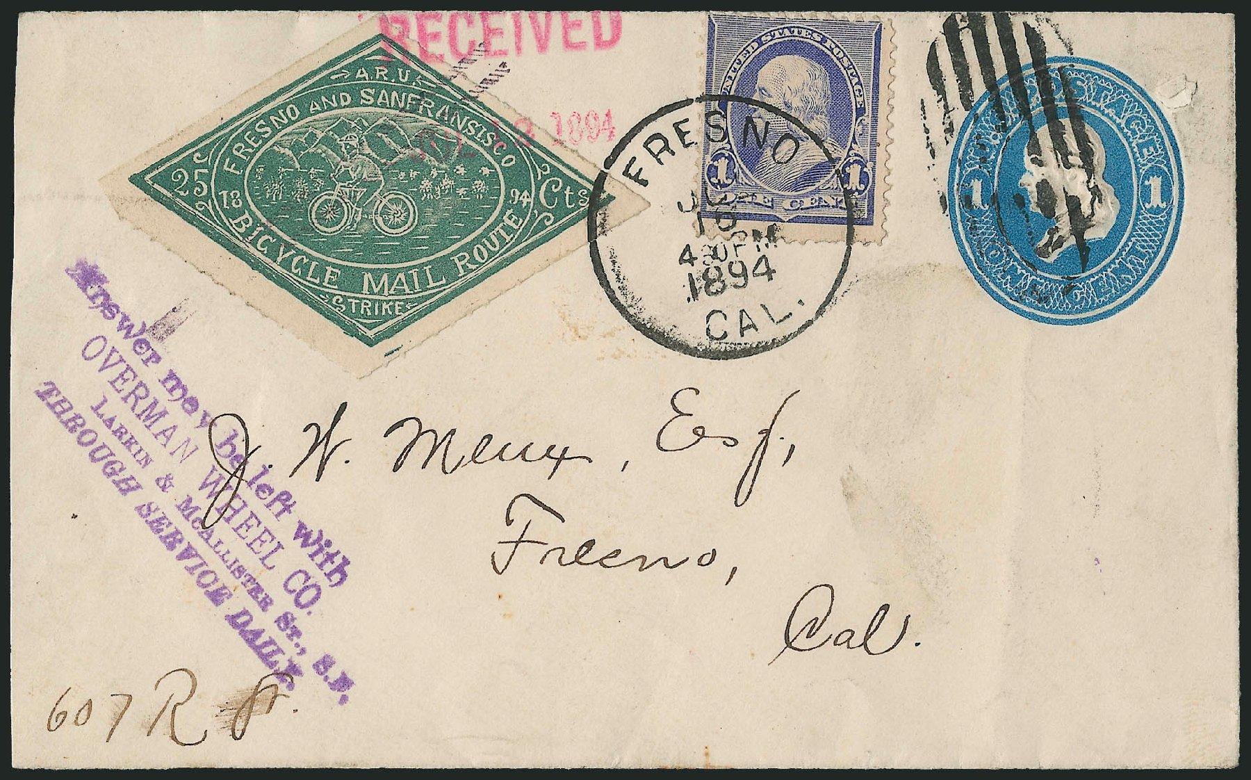 Costs of US Stamps Scott Catalogue # 219 - 1890 1c Franklin. Robert Siegel Auction Galleries, Jun 2015, Sale 1105, Lot 2624