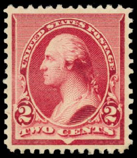 Costs of US Stamps Scott Cat. # 219D: 1890 2c Washington. Daniel Kelleher Auctions, Jan 2015, Sale 663, Lot 1437