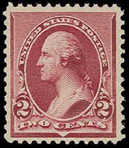 Value of US Stamp Scott Cat. #219D - 2c 1890 Washington. H.R. Harmer, Nov 2013, Sale 3004, Lot 1138