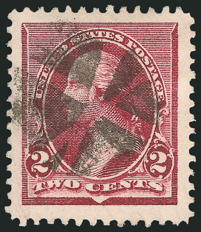 US Stamps Prices Scott #219D - 2c 1890 Washington. Robert Siegel Auction Galleries, Sep 2012, Sale 1027, Lot 108
