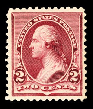 US Stamps Value Scott Catalog # 219D: 2c 1890 Washington. Cherrystone Auctions, Jul 2013, Sale 201307, Lot 69