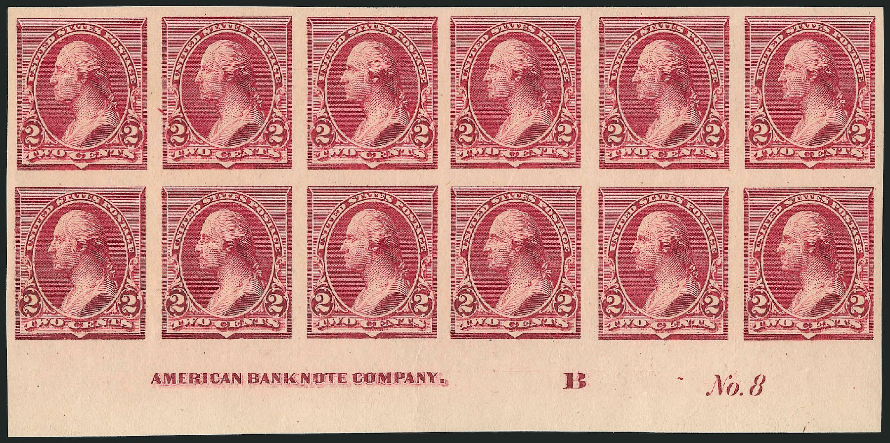 US Stamp Value Scott # 219D - 2c 1890 Washington. Robert Siegel Auction Galleries, Apr 2015, Sale 1096, Lot 399