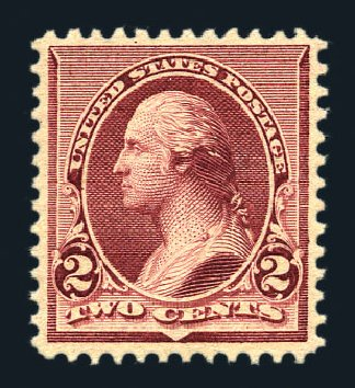 Value of US Stamps Scott Cat. # 219D - 1890 2c Washington. Harmer-Schau Auction Galleries, Aug 2015, Sale 106, Lot 1610