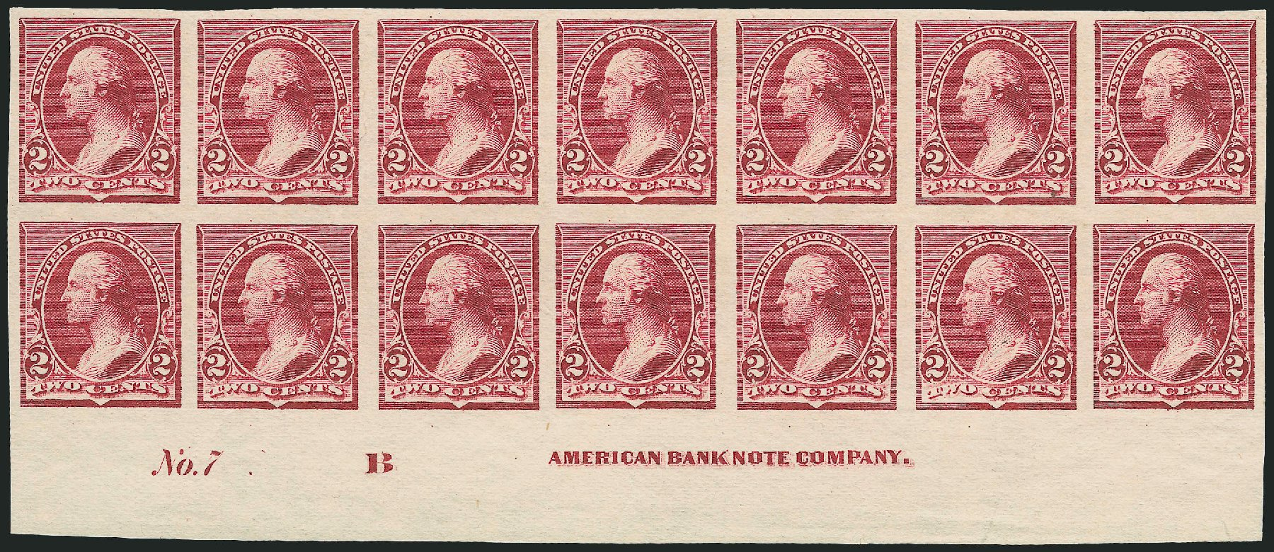 Values of US Stamps Scott Cat. # 219D: 1890 2c Washington. Robert Siegel Auction Galleries, Feb 2015, Sale 1092, Lot 1160