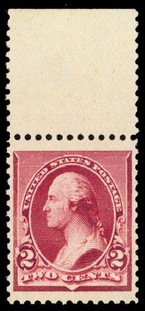 US Stamp Price Scott Cat. #219D: 1890 2c Washington. Daniel Kelleher Auctions, Oct 2014, Sale 660, Lot 2194