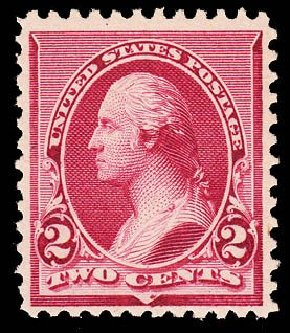 Prices of US Stamp Scott Catalog # 219D: 2c 1890 Washington. Daniel Kelleher Auctions, May 2014, Sale 652, Lot 325