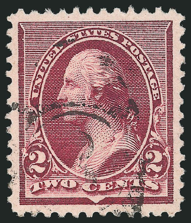 US Stamps Values Scott Catalog #219D: 1890 2c Washington. Robert Siegel Auction Galleries, Dec 2012, Sale 1037, Lot 1775