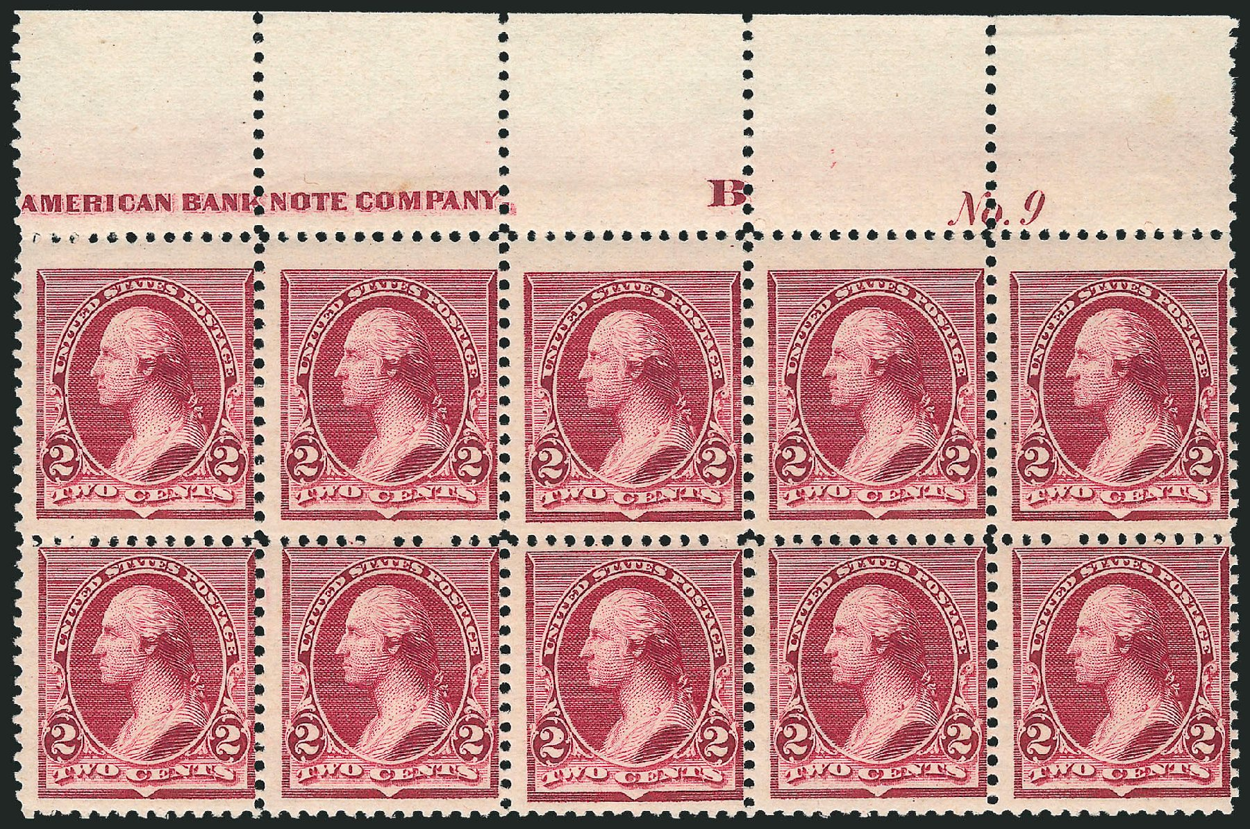 Prices of US Stamp Scott Catalog 219D: 2c 1890 Washington. Robert Siegel Auction Galleries, Apr 2015, Sale 1096, Lot 385