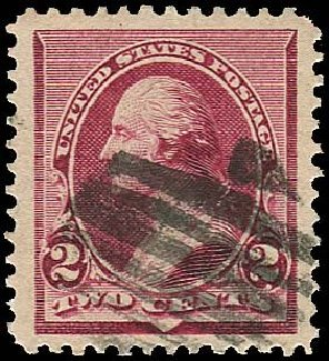 Costs of US Stamp Scott 219D - 1890 2c Washington. Regency-Superior, Nov 2014, Sale 108, Lot 412