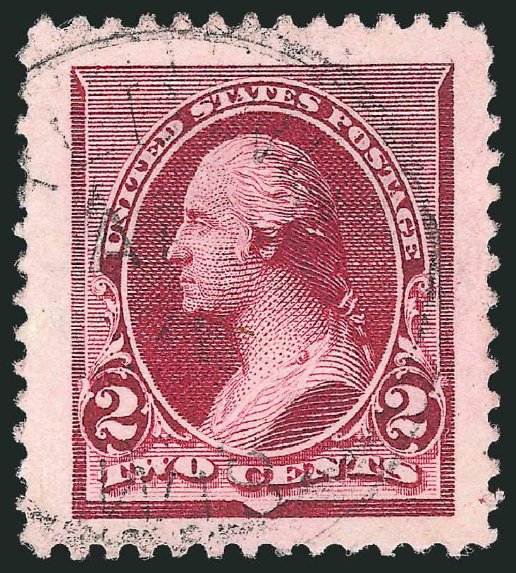 US Stamp Price Scott Catalogue #219D: 1890 2c Washington. Robert Siegel Auction Galleries, Oct 2012, Sale 1032, Lot 3322
